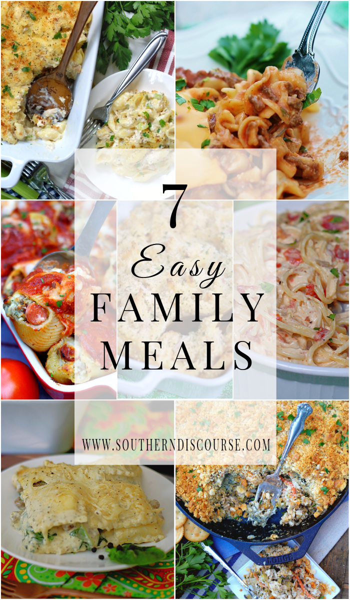 7 easy family casserole meals that every family member will love! Perfect for leftovers, easy prep, make ahead and freezing.