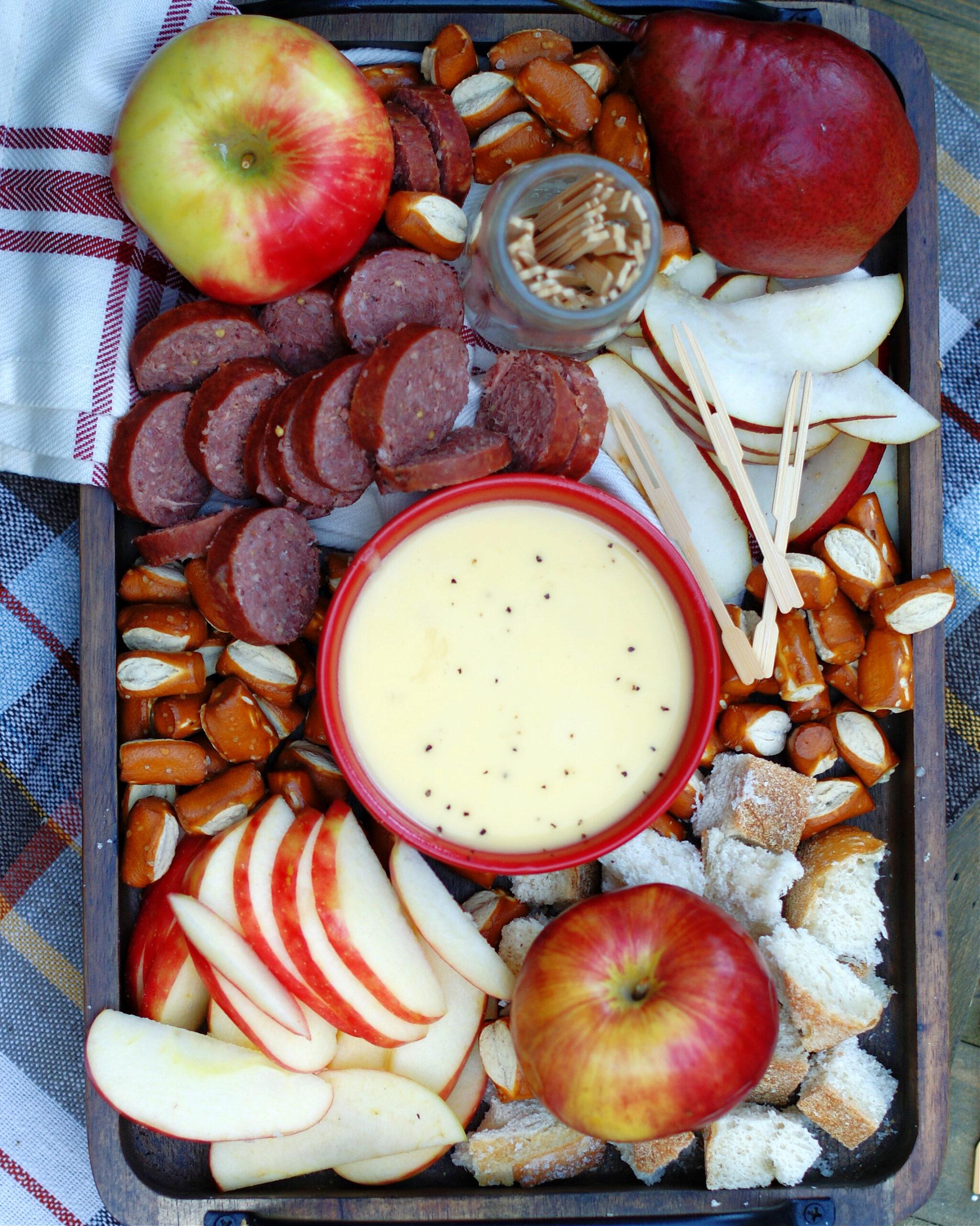 Apple Cheese Fondue