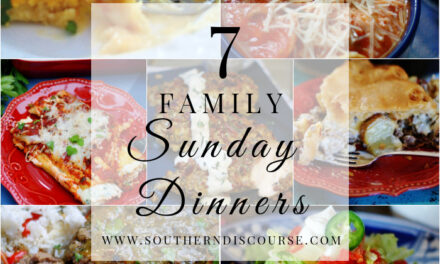 7 Delicious Family Sunday Dinners