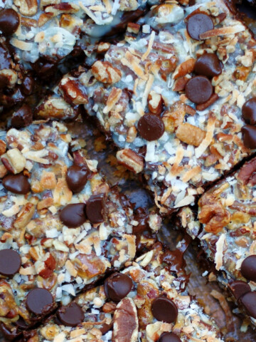 Hello Dolly Magic Cookie Bars Title