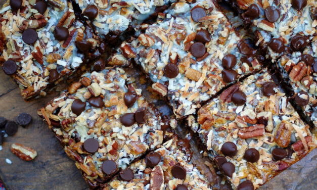 Hello Dolly Magic Cookie Bars