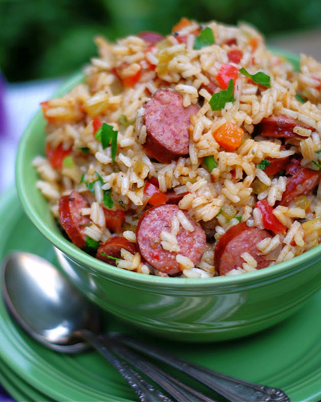 Easy Homemade Louisiana Sausage Jambalaya