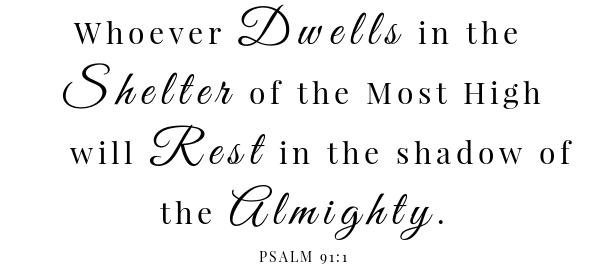 Sausage egg crescent roll up scripture- psalm 91:1