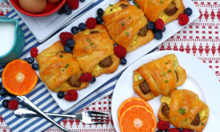 Sausage Egg Crescent Breakfast Bundles