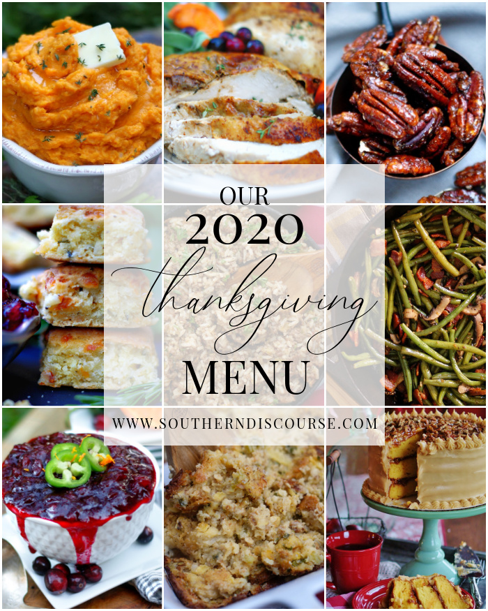 2020 Thanksgiving Menu and Guide