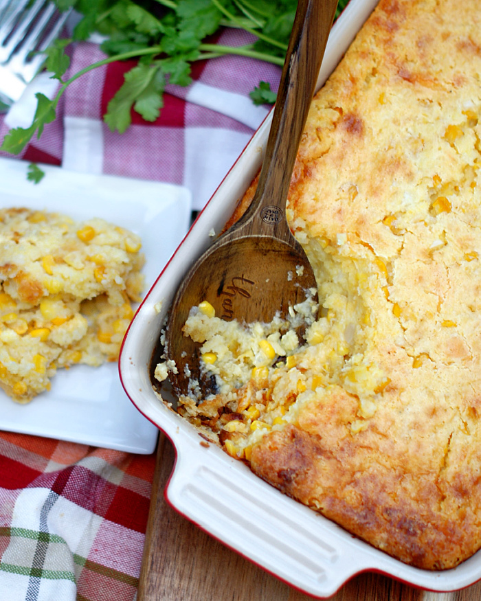 Southern Cornbread Pudding at Thanksgiving
