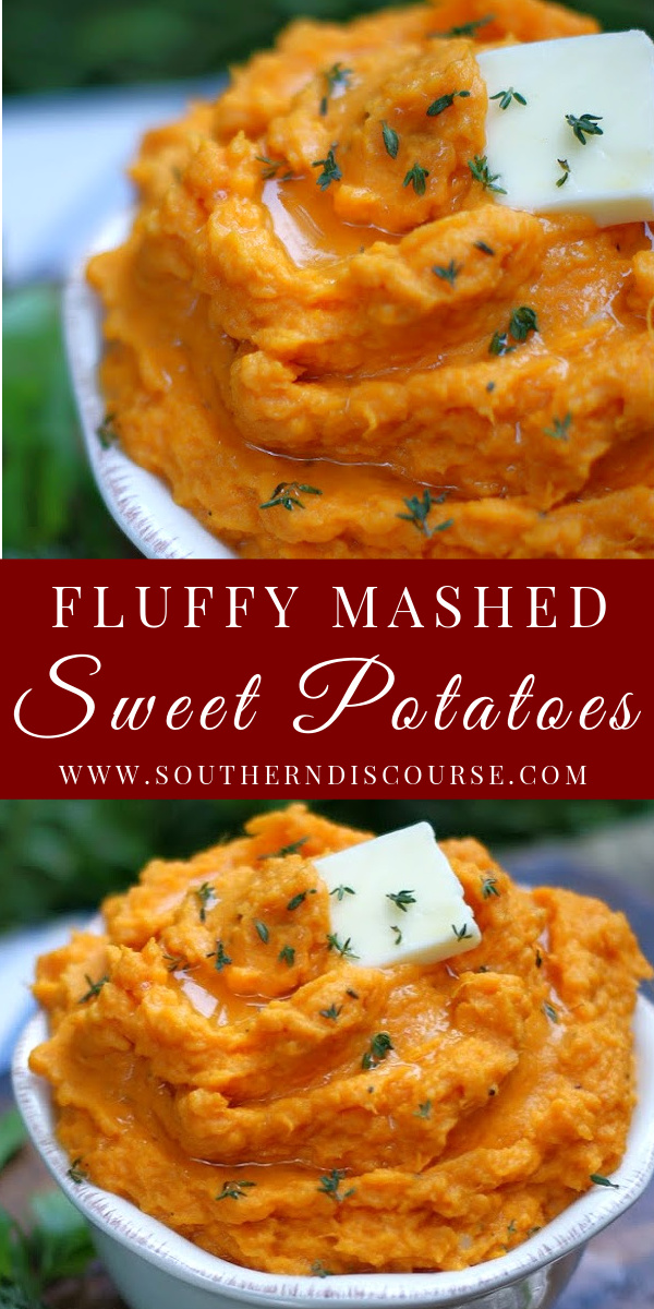 Deliciously savory and unbelievably fluffy, these easy Mashed Sweet Potatoes whip up just right with a little butter, garlic and sour cream and are the perfect side dish for every meal, even holidays! How to make the best mashed sweet potatoes has never been more simple!