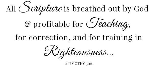 Jalapeno Cranberry sauce scripture- 2 Timothy 3:16