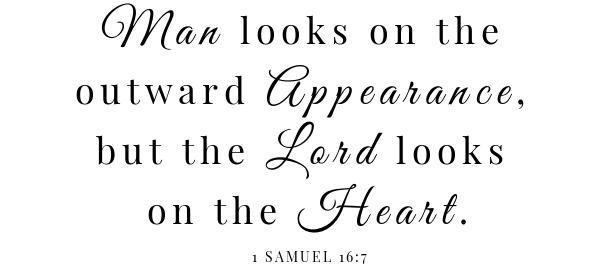 Honey spiced pecans scripture- 1 Samuel 16:7