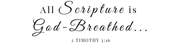 pomegranate salad scripture- 2 Timothy 3:16