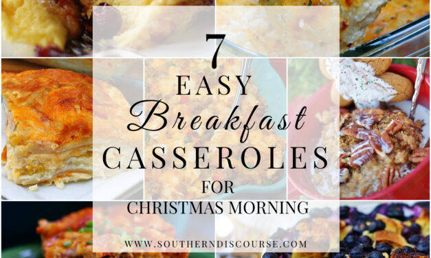 Breakfast Casseroles for Christmas  Morning- Saturday Seven