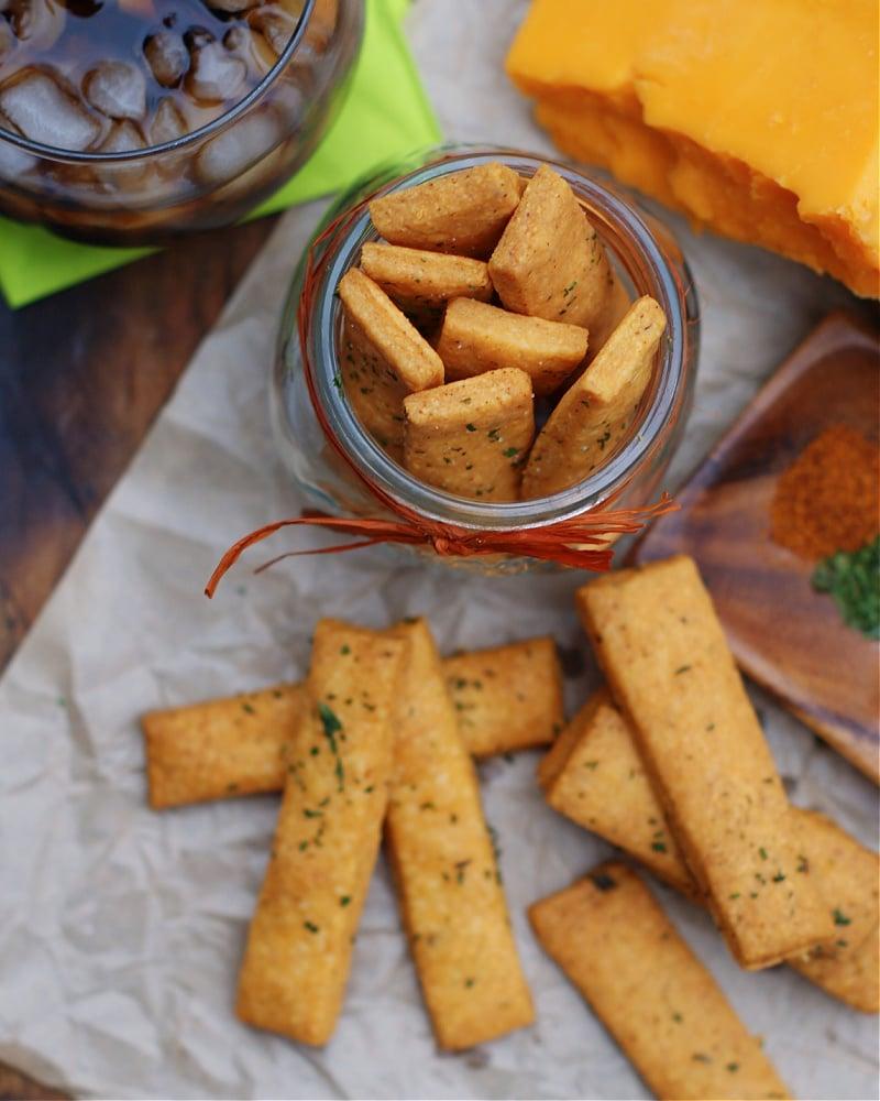 Cheese Straws snacking idea