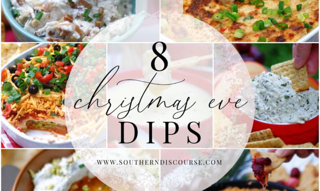 8 Christmas Eve Dips
