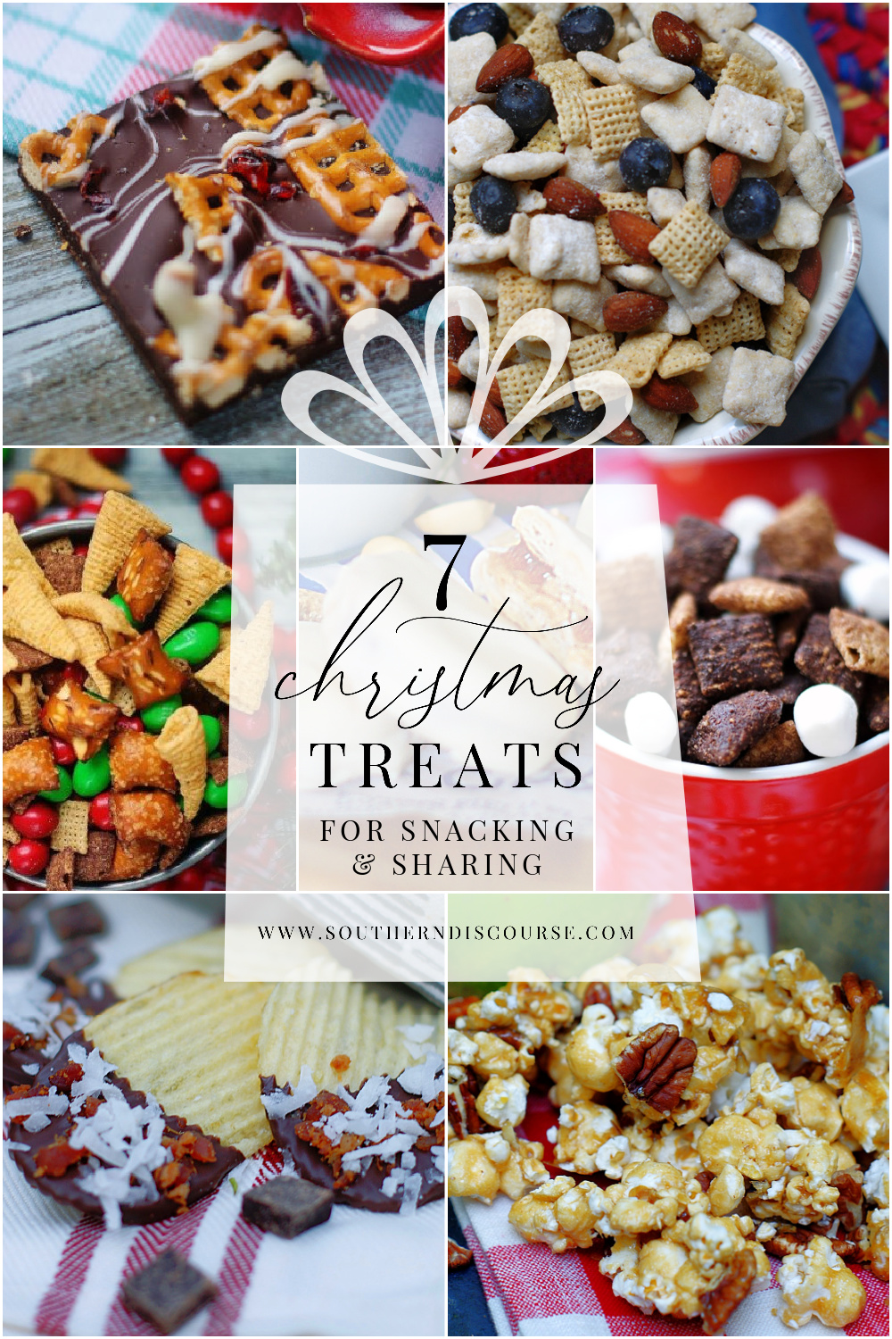 7 sweet Christmas treats and snacks perfect for sharing, as homemade gifts, Christmas parties and enjoying around the tree.