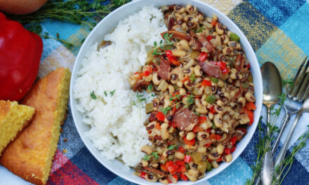 Deep South Hoppin' John Black Eyed Peas