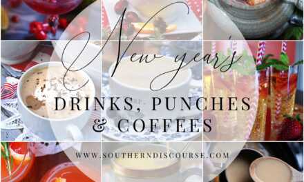 New Year's Drinks, Punches & Coffees