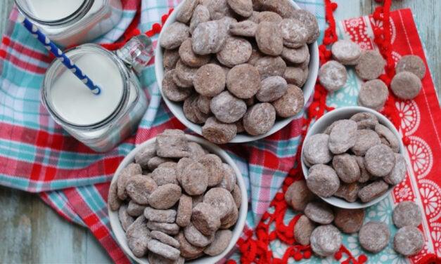 Ritz Bits Muddy Buddies Snack