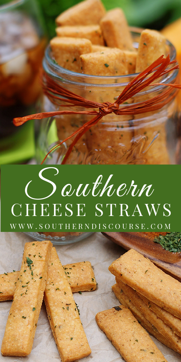 Homemade Southern Cheese Straws are an addictive snack that are so easy to make! This simple recipe is loaded with cheddar and zesty herbs and spices with a little kick of cayenne for maximum snacking!