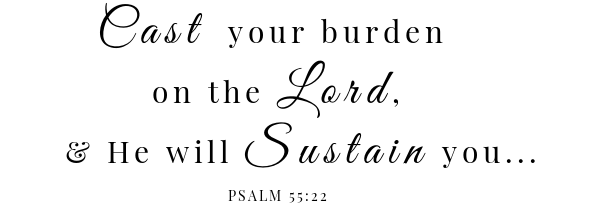 Classic pot roast scripture Psalm 55:22