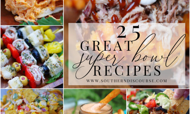 25 Great Super Bowl Recipes