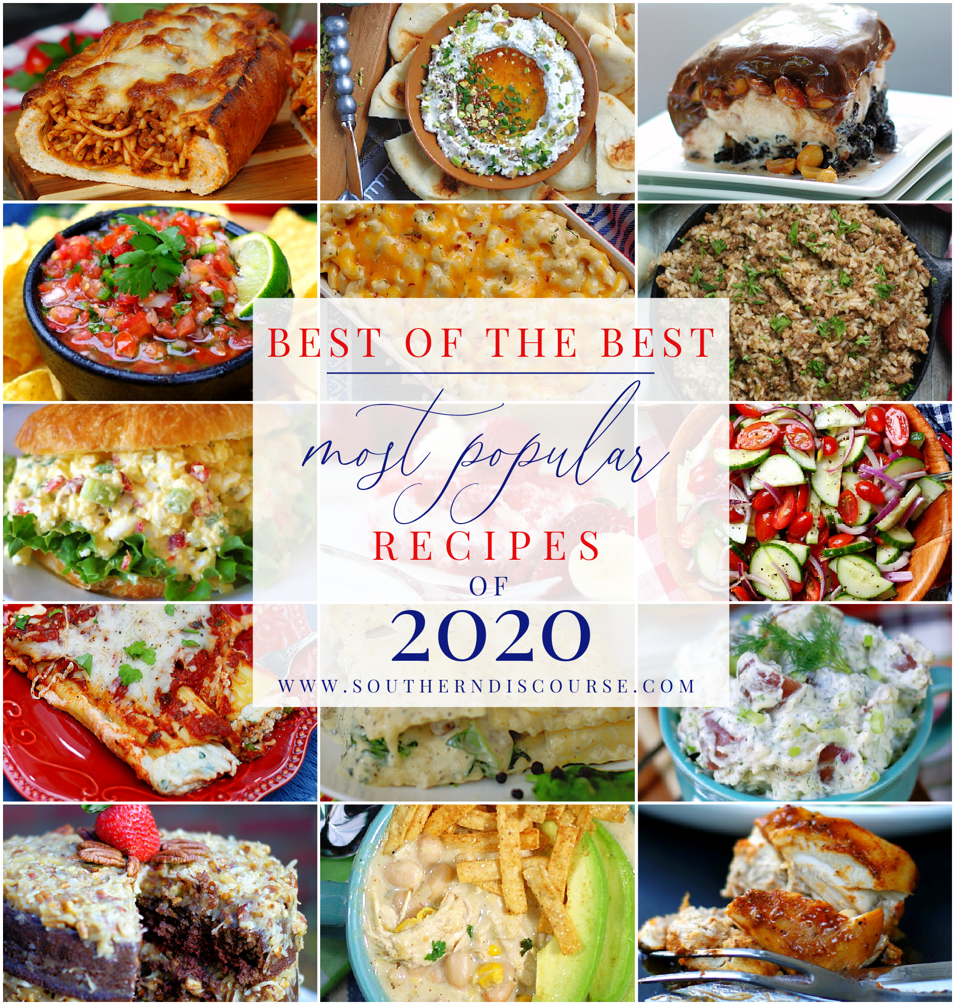 recipes readers loved in 2020 collage