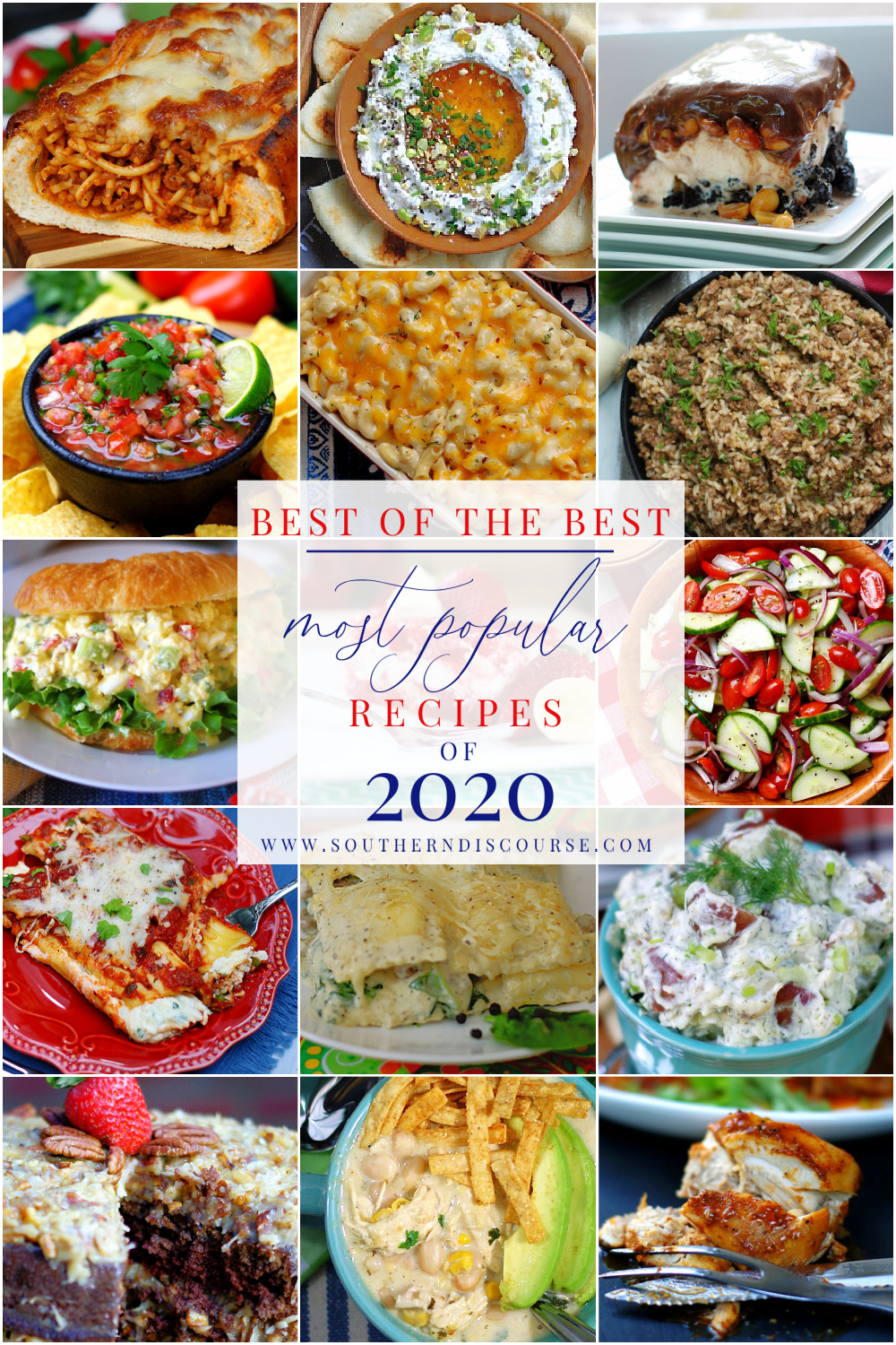 From Out of This World Cream Cheese Chicken Chili to Mamaw's German Chocolate Cake, these are the top 15 recipes that kept readers coming back again and again this year. I bet your favorite made the list!