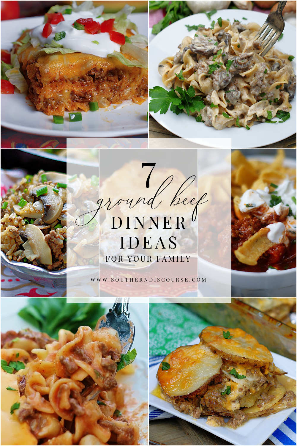 """7 easy ground beef recipes to answer the question """"What should I make for dinner tonight?"""""""