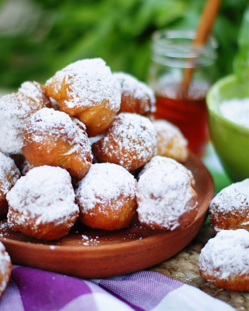 Louisiana Biscuit Beignets are a fluffy pillow of fried dough.
