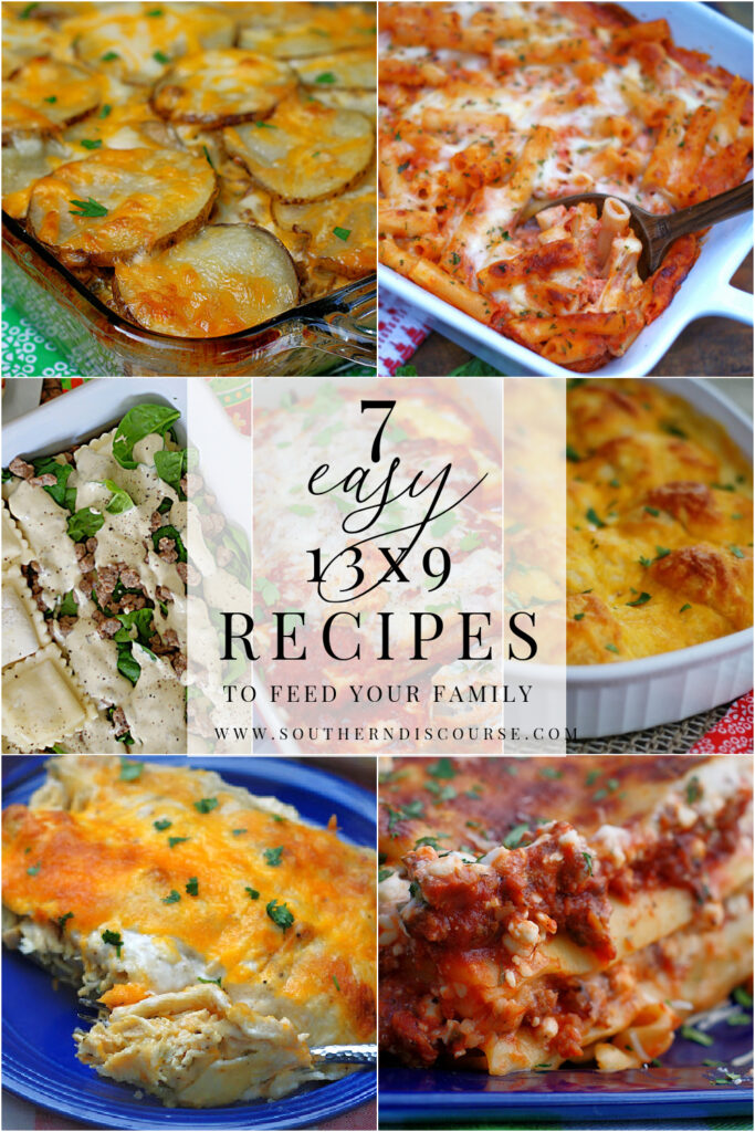 7 of the best 13x9 casserole recipes to feed your family any night of the week. From pasta to meat & potatoes to enchiladas and stuffed crescent rolls, this list has everything you need to get dinner on the table.