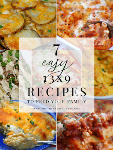 7 of the best 13x9 casserole recipes to feed your family. From pasta to meat and potatoes to enchiladas and stuffed crescent rolls, this list has everything you need to get dinner on the table.
