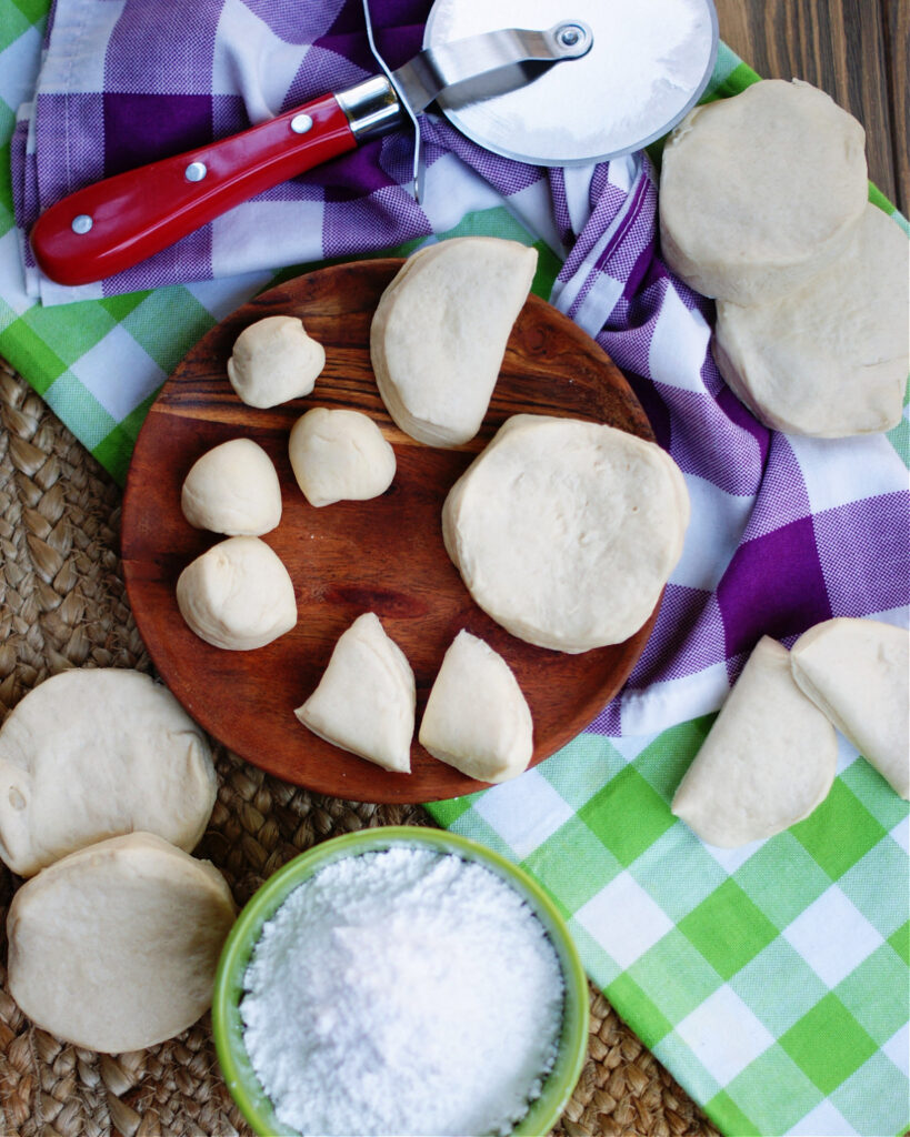 Biscuit beignets are a short cut recipe using canned biscuit dough.