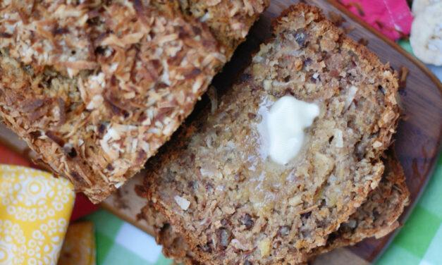 Hummingbird Banana Bread WITH Toasted Coconut