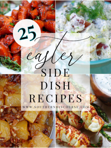 25 Easter side dish recipes to round out your meal.