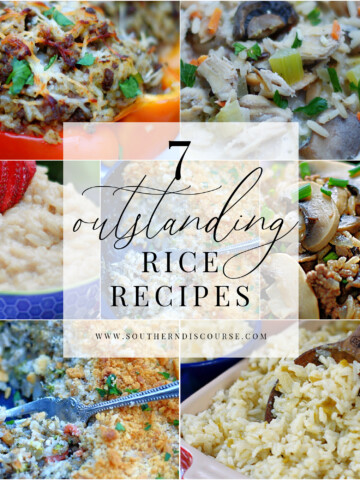 7 outstanding ways to enjoy rice! This surprisingly versatile grain is perfect as a as a side dish, main dish, soup, even dessert!