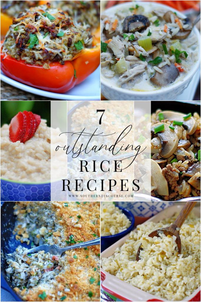 7 طرق رائعة للاستمتاع بالأرز!  هذه الحبوب متعددة الاستخدامات بشكل مدهش مثالية كطبق جانبي أو طبق رئيسي أو حساء أو حتى حلوى!