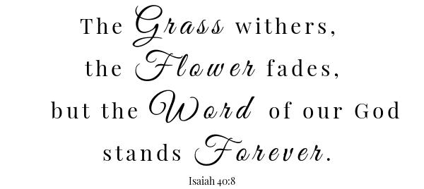 كتاب هام السويسري - إشعياء ٤٠: ٨