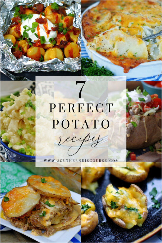 From mashed to baked, cheesy casseroles and everything in between, these 7 recipes will help you get delicious, easy potatoes on the table every night!