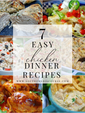 7 easy chicken dinner recipes for weeknight meals