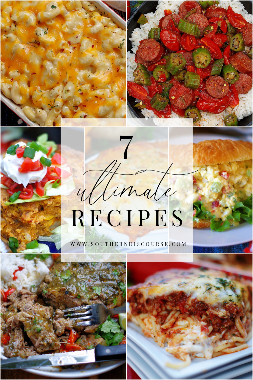 7 recipes that earn their ultimate badge with delicious ingredients, loads of flavor & by how easy they are to put together.