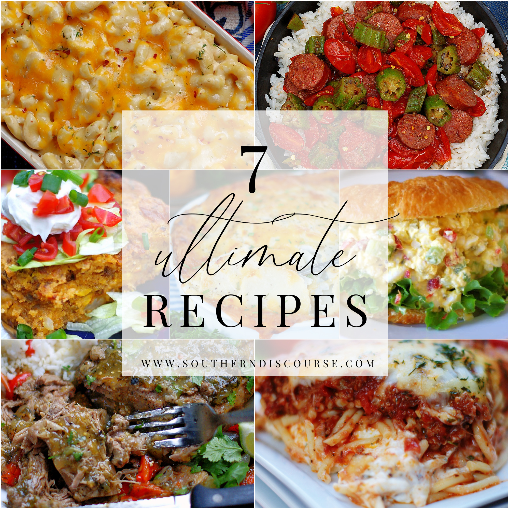 7 Ultimate Dinner Recipes to feed your family