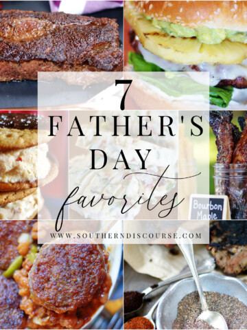 From steaks, to burgers, to candied bacon and ice cream sandwiches, even Dad's have favorite recipes they'd love to enjoy on Father's Day.