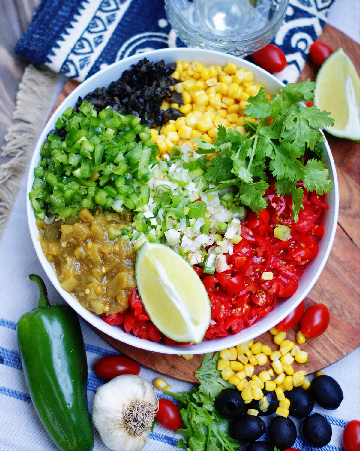 How to make the best green chile corn salsa dip