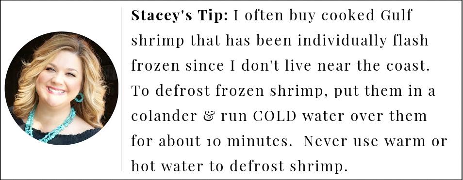 tip for making the best pickled shrimp