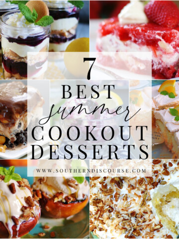 7 best summer desserts to bring to a cookout