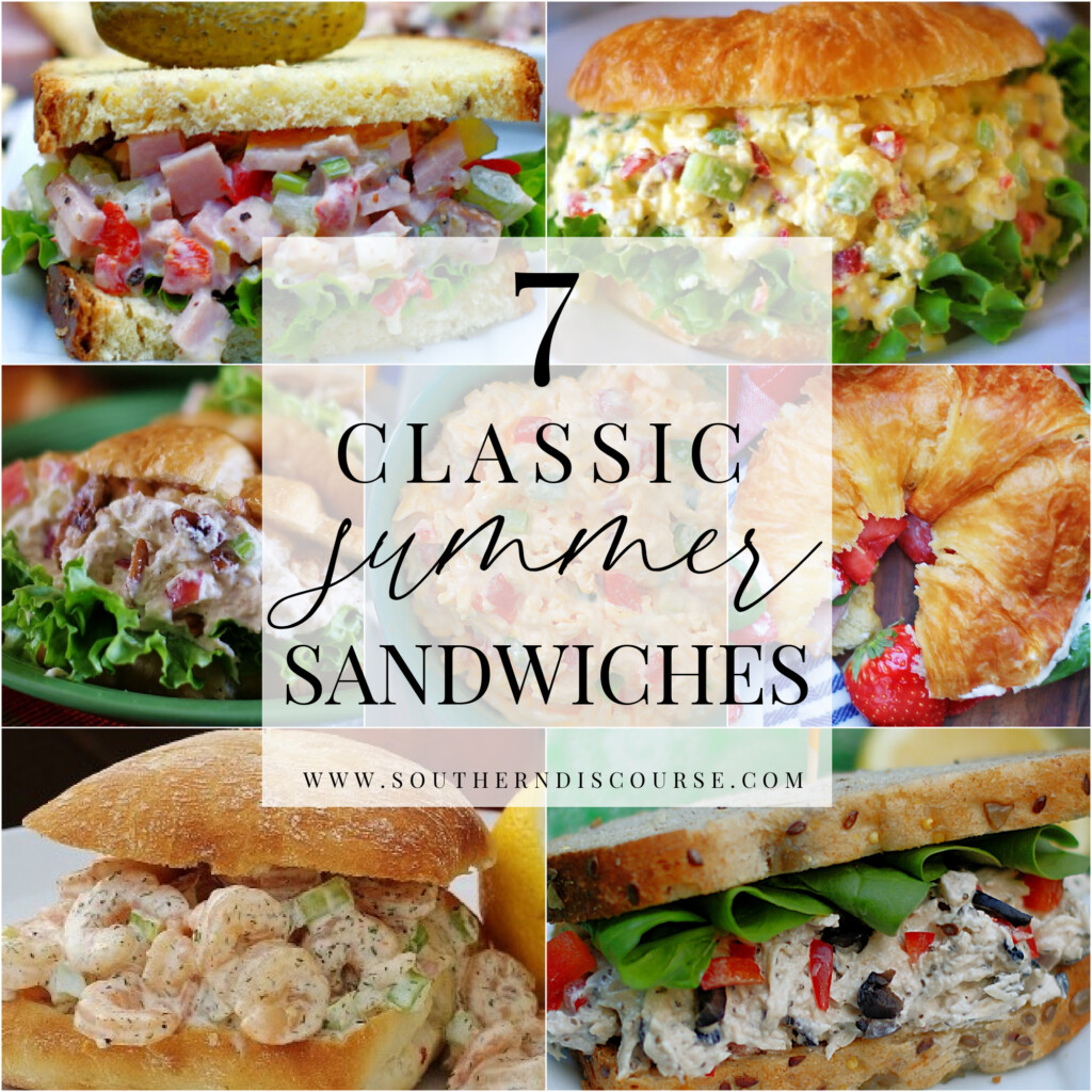 7 classic summer sandwich recipes to beat the heat and stay out of the kitchen.