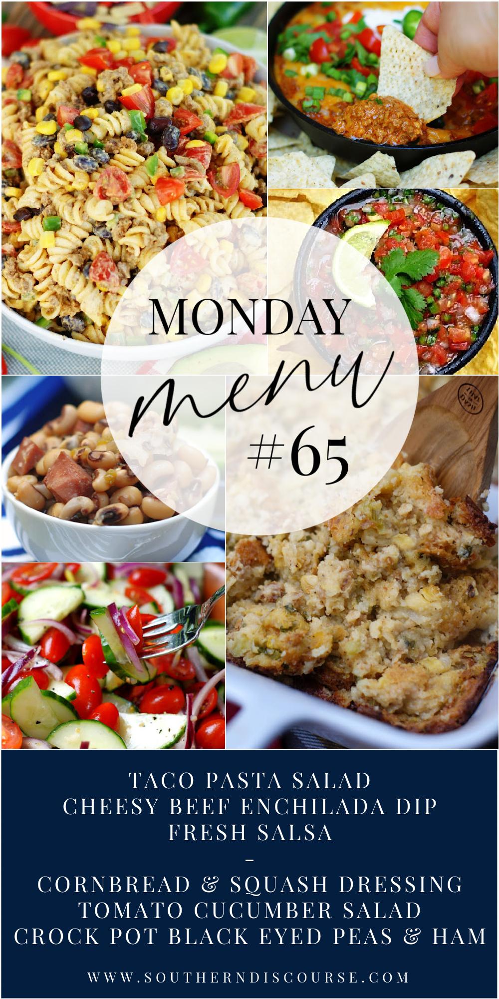 Monday Menu #65