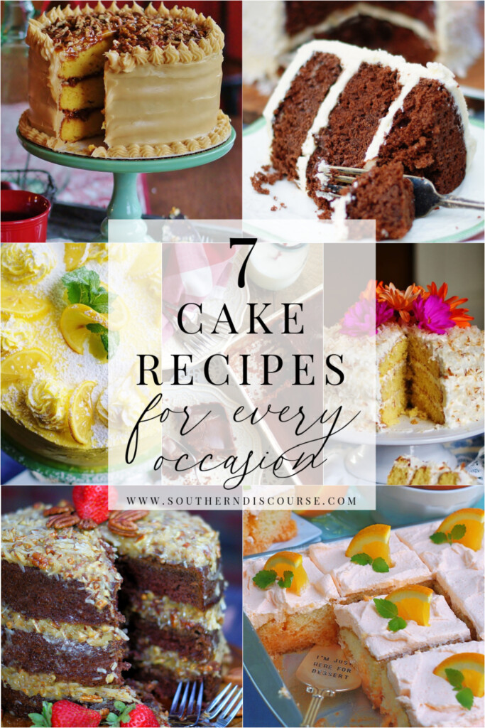 7 classic cake recipes for every occasion- layer cakes and sheet cakes