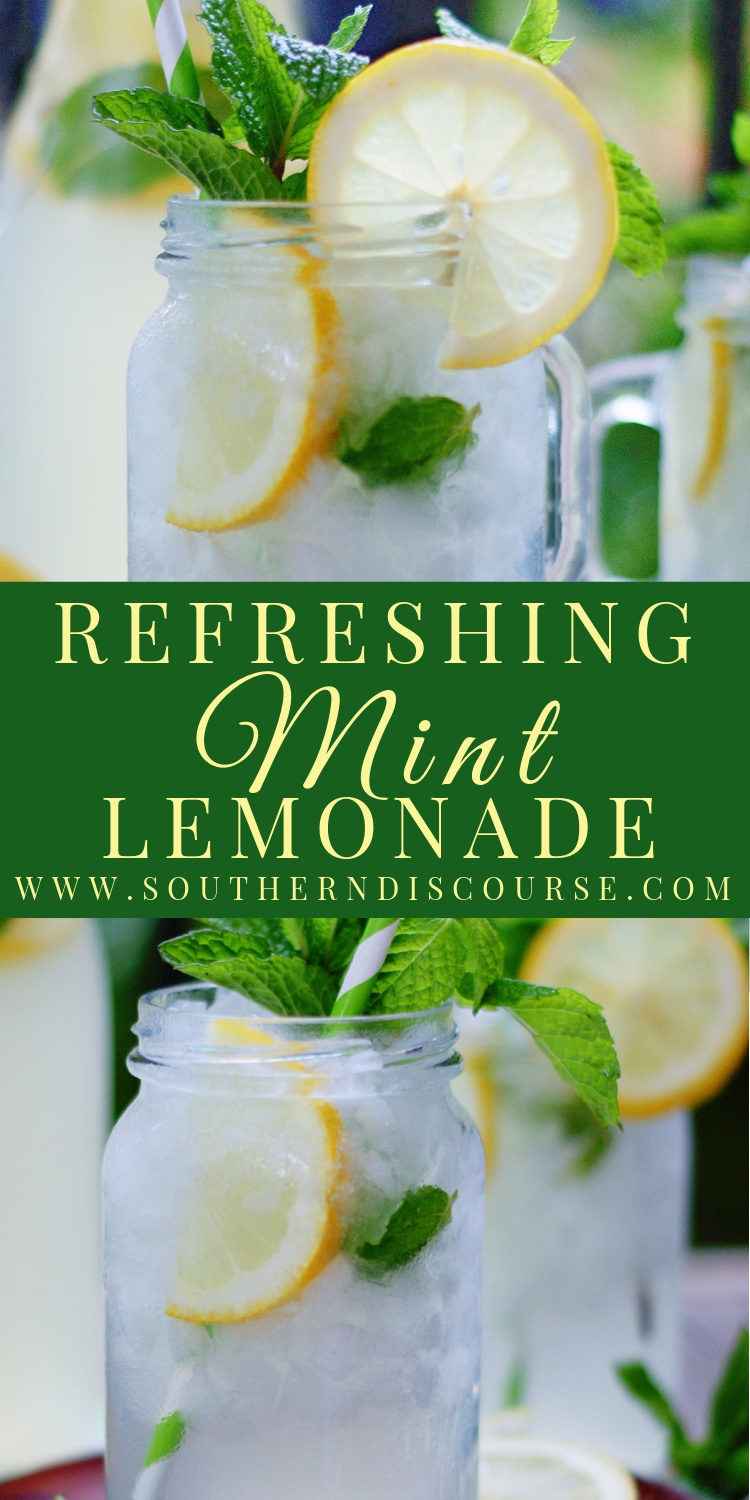 This easy Mint Lemonade recipe using a quick mint simple syrup and freshly squeezed lemons is an unbelievably special drink you'll always want to have on hand.