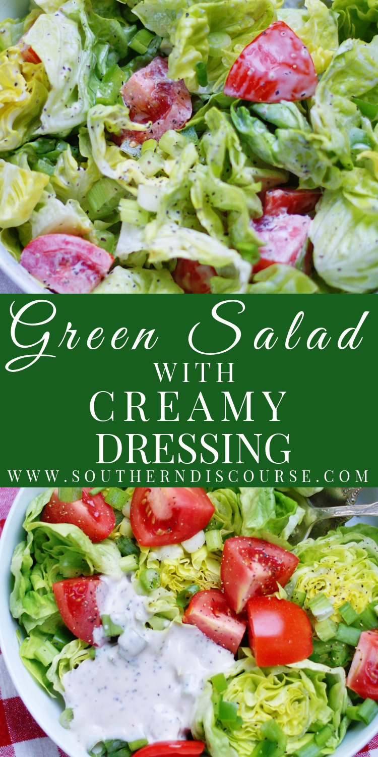 Sometimes a simple green salad is the only partner you need for your favorite dinner recipe. When that's the case, top it with this simple, 1-minute Creamy Mayo Vinaigrette to create a classic house salad that is sure to become your signature dish!