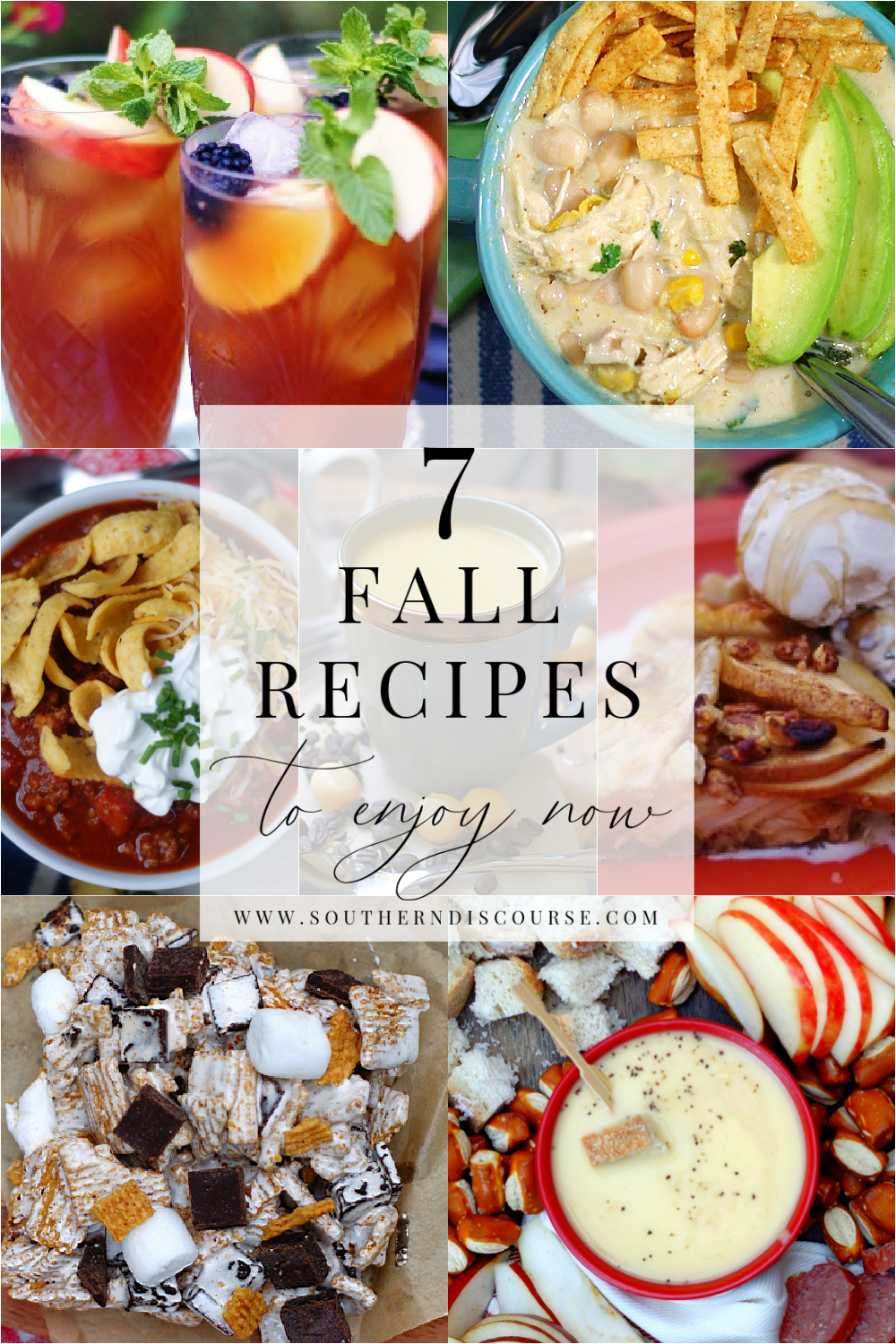 Looking for ways to sneak a little fall into your life?  You're in luck!  This week's Saturday Seven has everything from early fall drinks, snacks, desserts, even dinners that embrace everything you love about autumn without rushing the seasons!